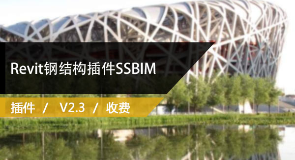 Revit钢结构插件SSBIM(SSBIM For Revit )