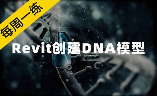 每周一练第51期:Revit创建DNA模型