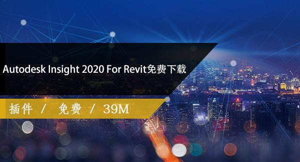 Autodesk Insight 2020 For Revit免費下載