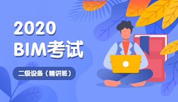 BIM二级设备考试(2020精讲班)