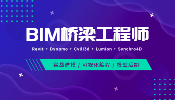 BIM桥梁工程师训练营(2020版)