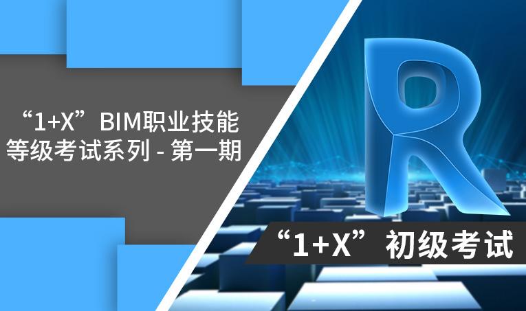 第一期建筑信息模型(BIM) 1+X 初级考试考题解析