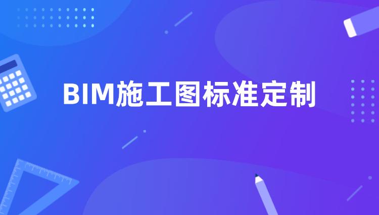【谷雨专辑】BIM施工图标准定制
