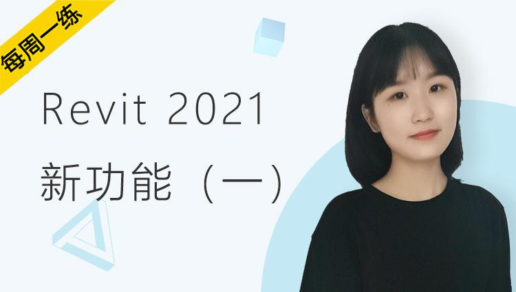 每周一练丨NO.81 Revit 2021新功能(一)