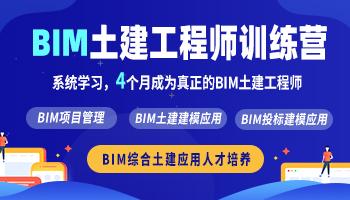 BIM土建工程师训练营(2021版)
