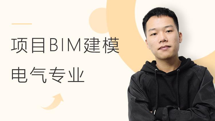 酒店项目BIM建模:电气专业模型