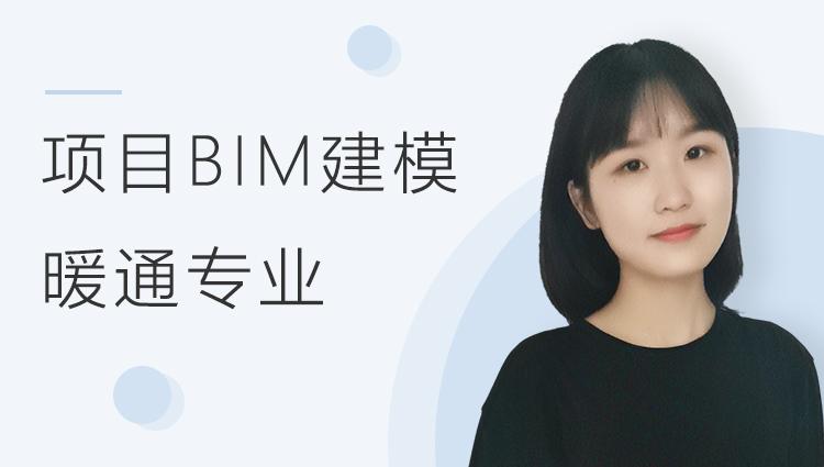 酒店项目BIM建模:暖通专业模型