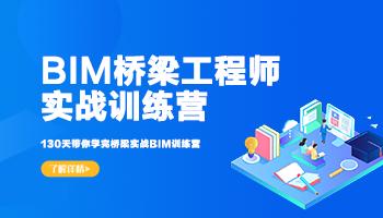 BIM桥梁工程师训练营(2021版)
