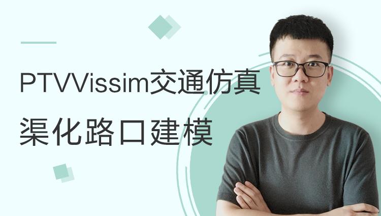 PTV Vissim交通仿真教程(B部分:渠化路口建模)