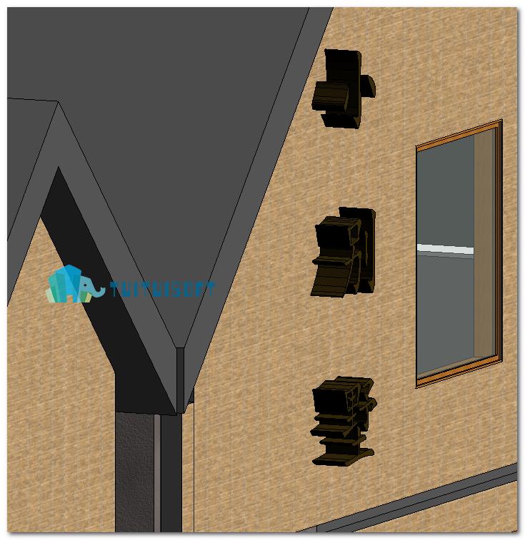 腿腿教学网-Revit教程 | Revit模型文字的创建