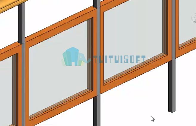 腿腿教学网-Revit教程 | Revit 如何创建栏杆嵌板