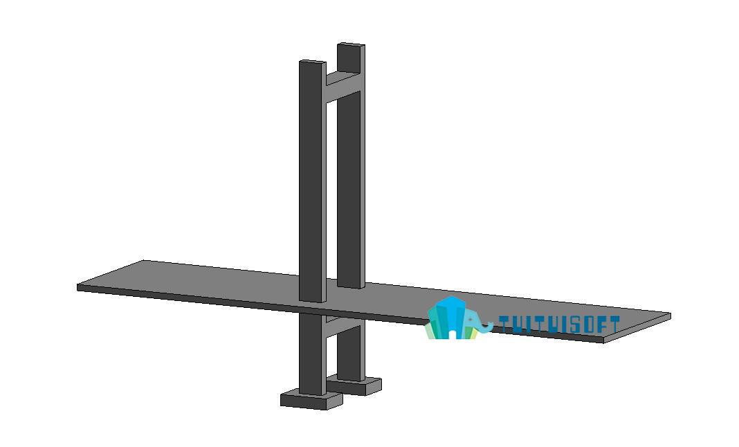 revit方法教程的绘制桥梁cad3d室内设计模型图片
