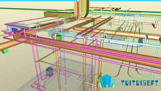 腿腿教学网-BIM技术在电气设计上的运用