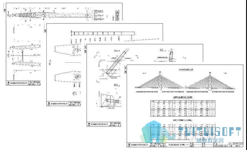 腿腿教学网-BIM技术下的南汀河大桥工程