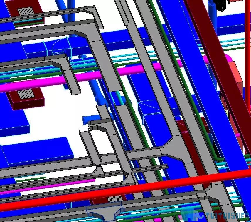 腿腿教学网-基于BIM技术机电领域的应用点