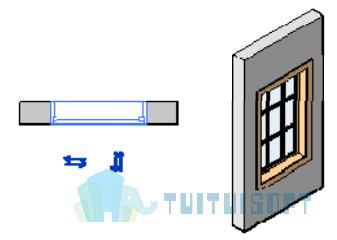 腿腿教学网-Revit入门级教程第六章-Revit窗