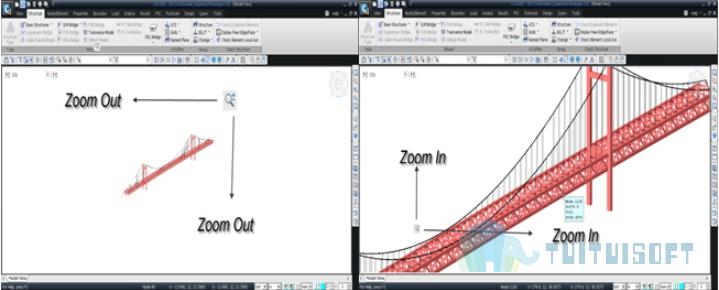 腿腿教学网-迈达斯软件丨Midas Civil动态视图