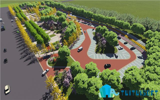 BIM景观设计怎么做?BIM软件在景观施工图上的设计流程(二)