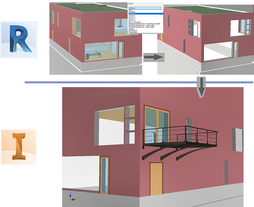 腿腿教学网-AUTODESK INVENTOR 2021新特性:在 Inventor 部件中参考 Revit 模型