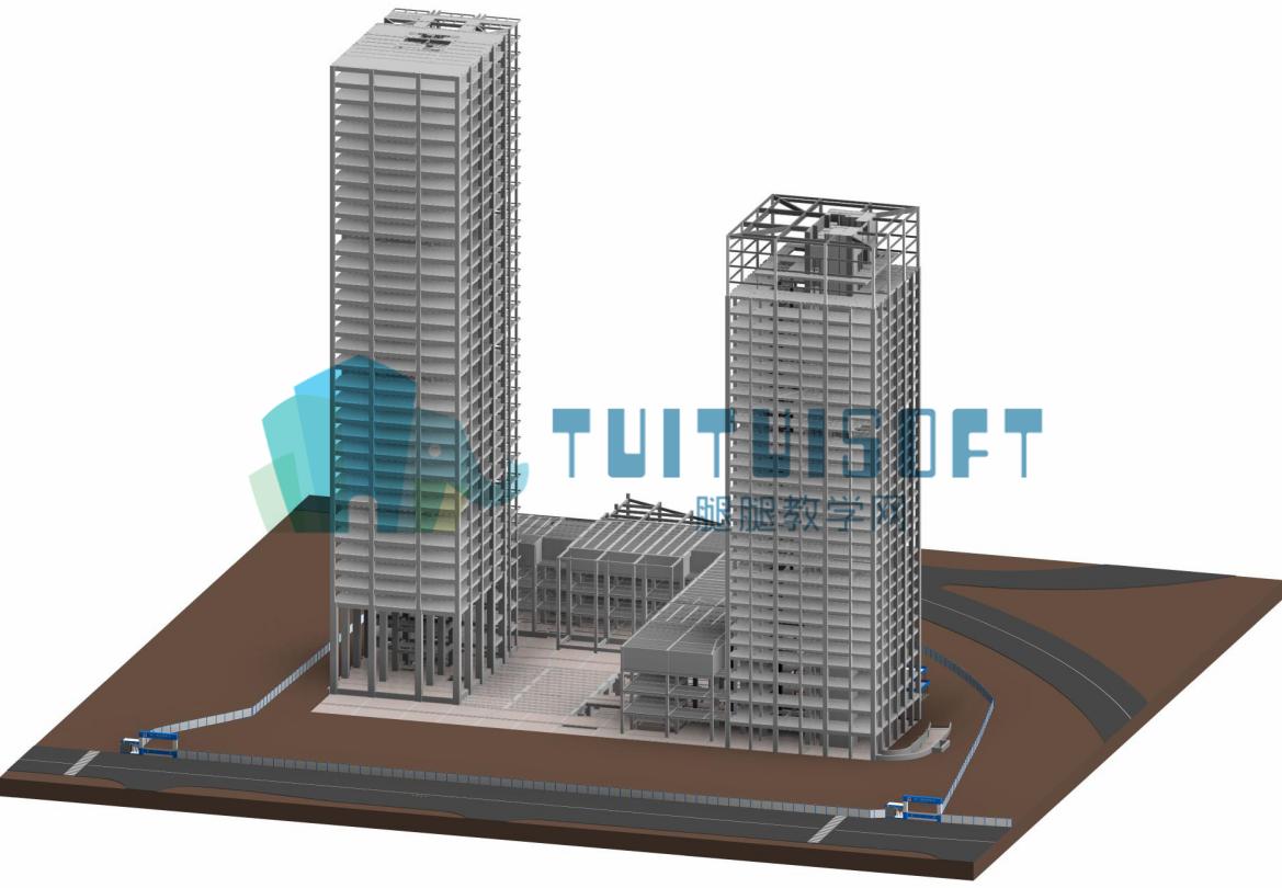 主楼模型.png