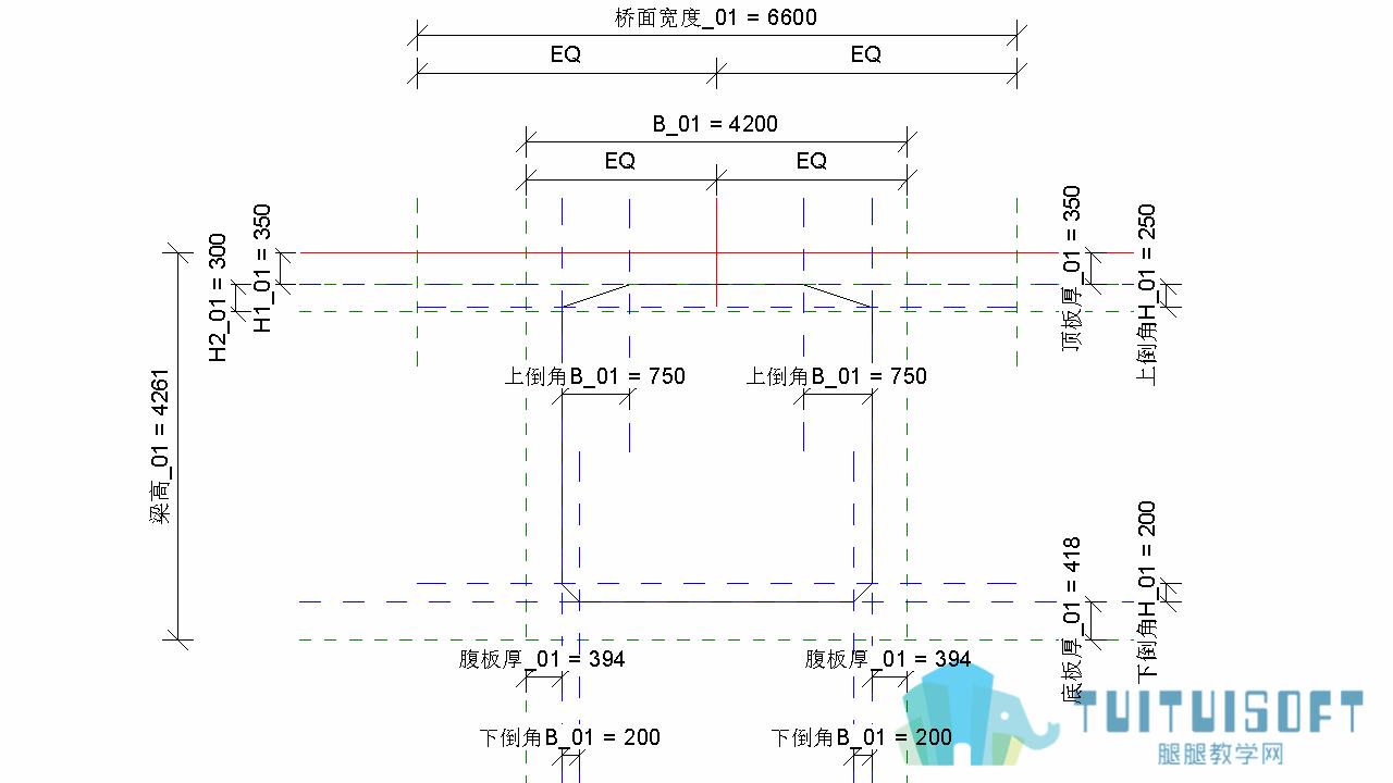 0801_Revit箱梁轮廓族参数化过程.png
