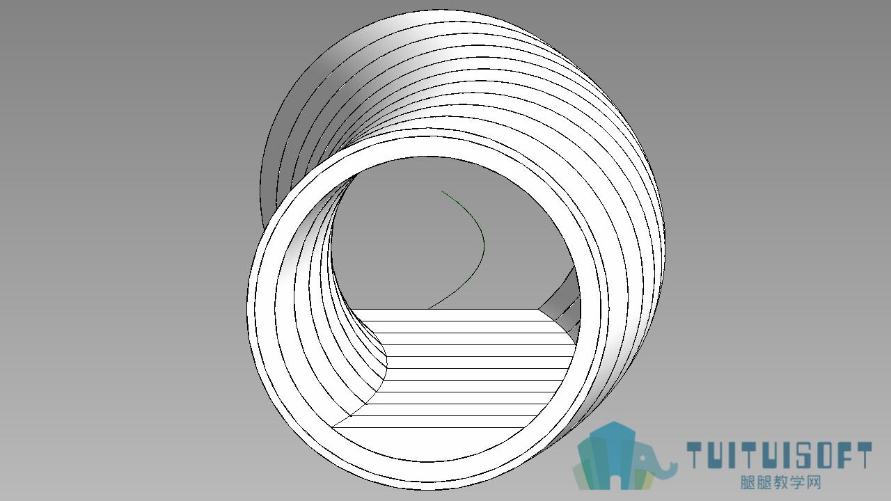 0902_Revit基于三维曲线的隧洞.png