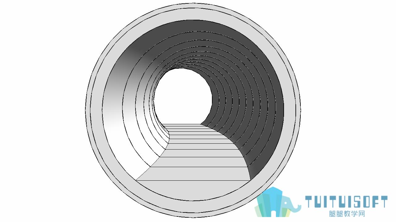 0903_Revit基于三维曲线的隧洞.png