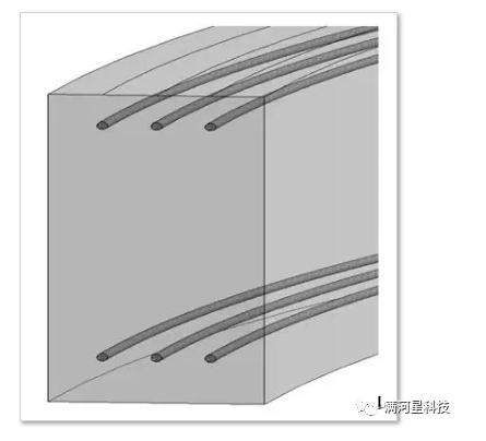 腿腿教学网-BIM软件教程:如何不用钢筋命令来快速绘制弧形梁的钢筋