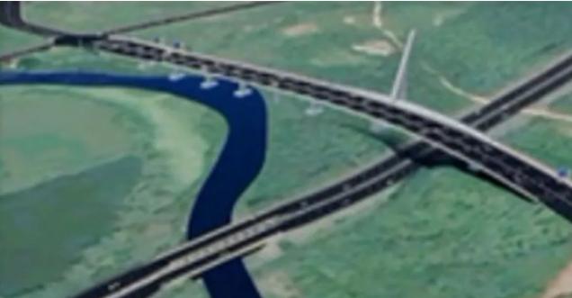 腿腿教学网-BIM三级工程师培训案例:武汉市光谷八路跨外环线桥BIM应用汇报
