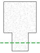 Revit连接的混凝土框架图元显示不一致