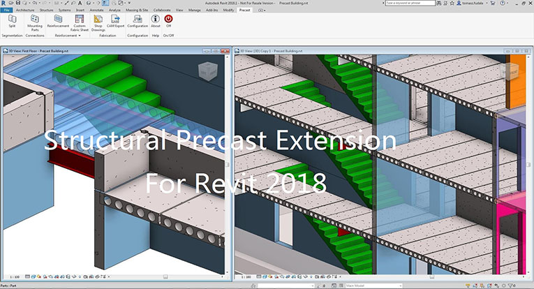 Structural Precast Extension for Revit 2018