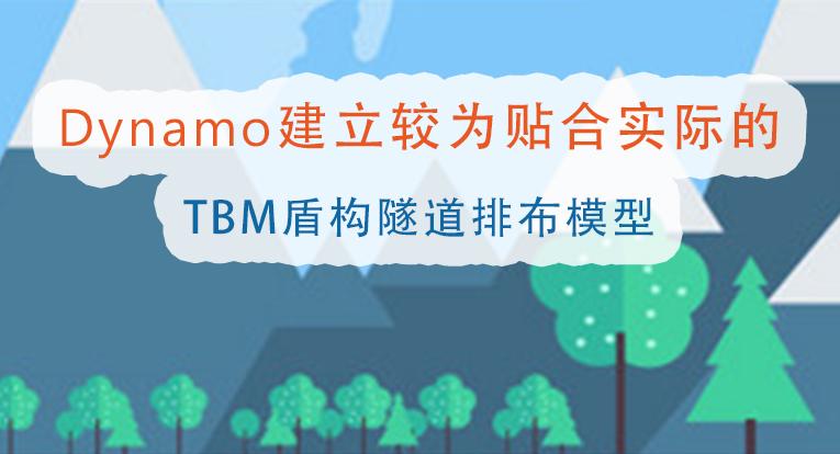 Dynamo建立较为贴合实际的TBM盾构隧道排布模型