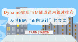 """Dynamo实现TBM隧道通用管片排布及其BIM""""正向设计""""的尝试"""